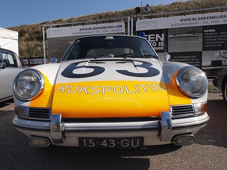 Porsche 912 Targa Rijkspolitie