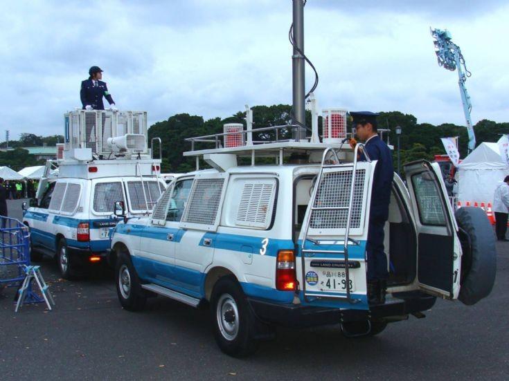 Tokyo Police Department Toyota Land Cruiser