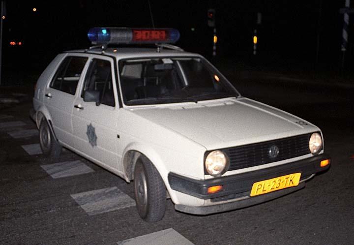 Gemeentepolitie Rijswijk Volkswagen Golf