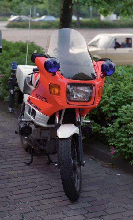 Gemeentepolitie Rijswijk BMW motorcycle