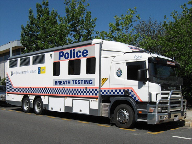 ACT Police - AFP Scania P94, Canberra Australia