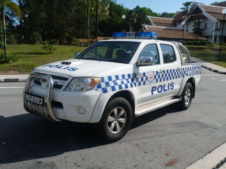 RBPF Toyota Hilux of Marine Police