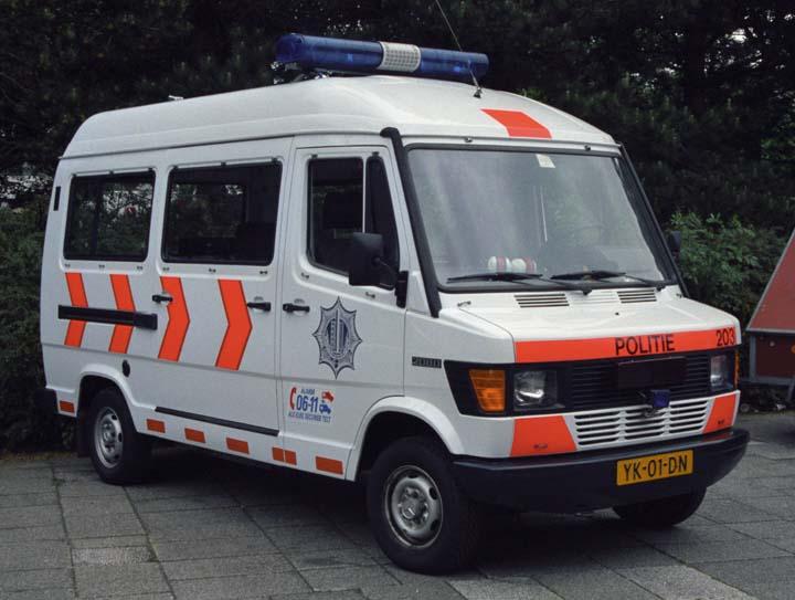 Gemeentepolitie Rijswijk Mercedes Benz van