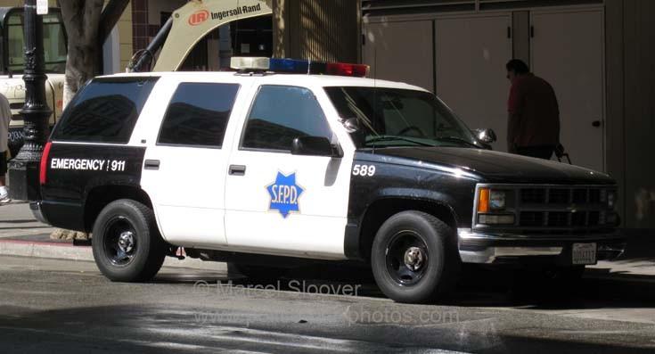 Chevrolet SFPD 589