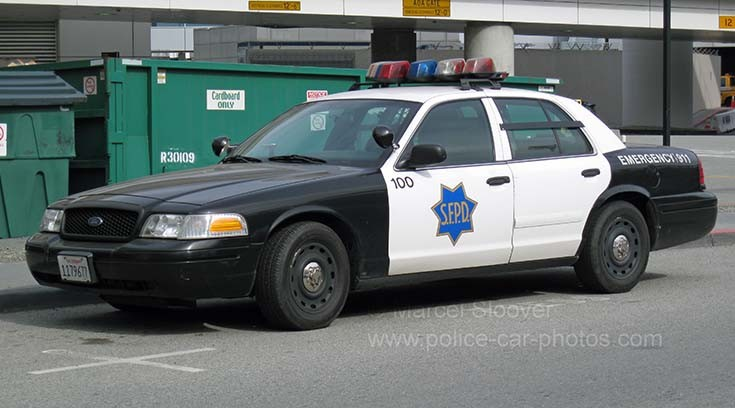 Airport police San Francisco Ford
