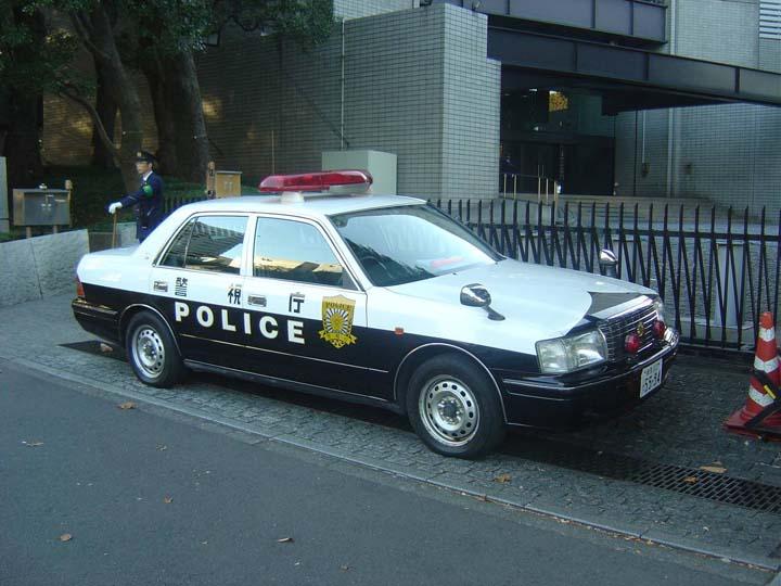 Tokyo PD Toyota Crown patrol car
