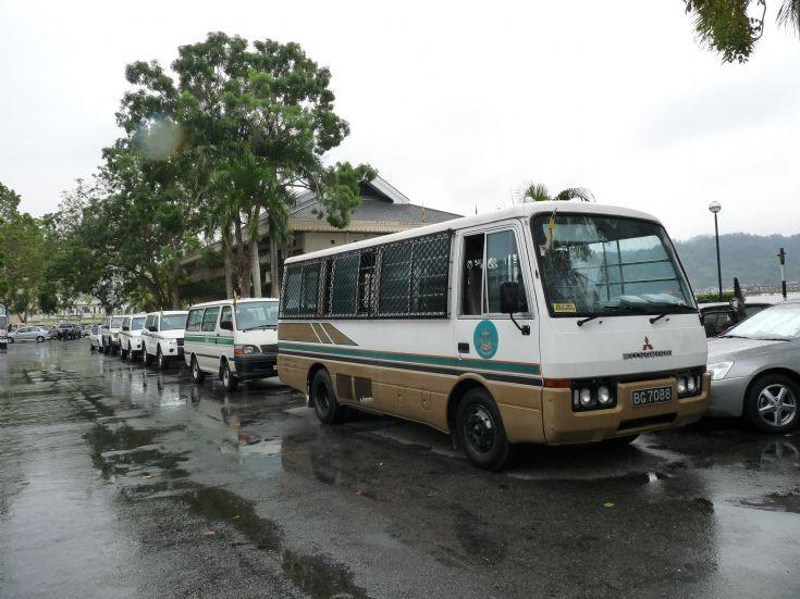 Brunei Prison Department vehicles