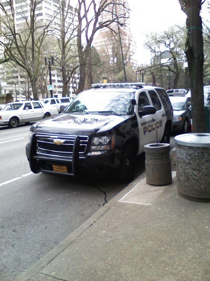 Chevrolet SUV, Gresham Police, Oregon