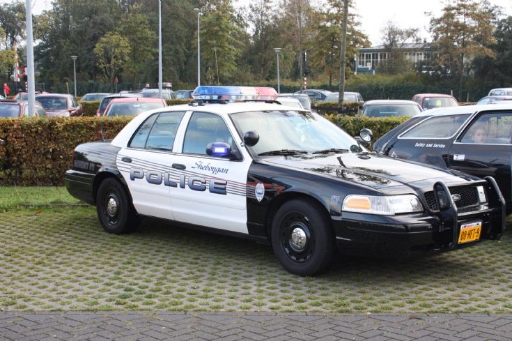Sheboygan Police Ford