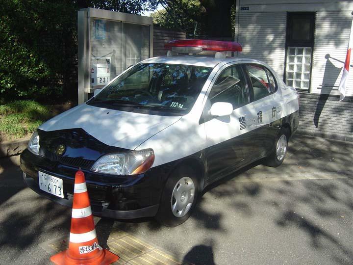 Tokyo Police patrol car
