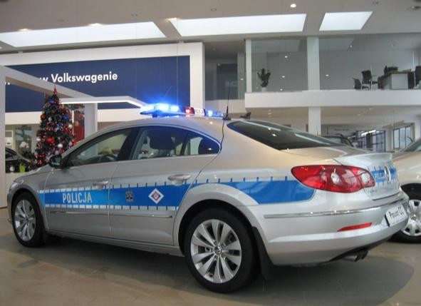 Balice Poland  city photos gallery : Police Car Photos Policja Volkswagen Passat CC