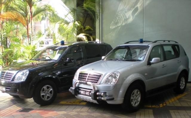 Malaysia Police - UTK Vehicles