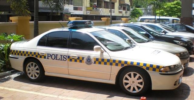 Malaysia Police - response car