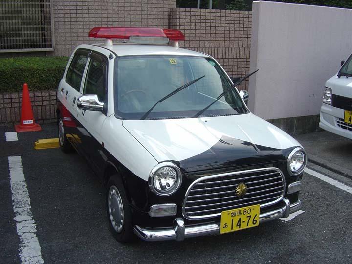 Tokyo Police department small patrolcar