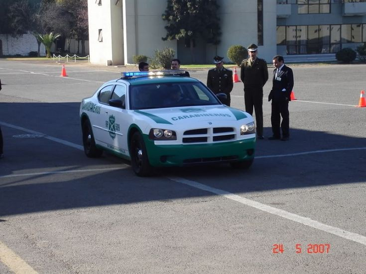 dodge charger de carabineros de chile