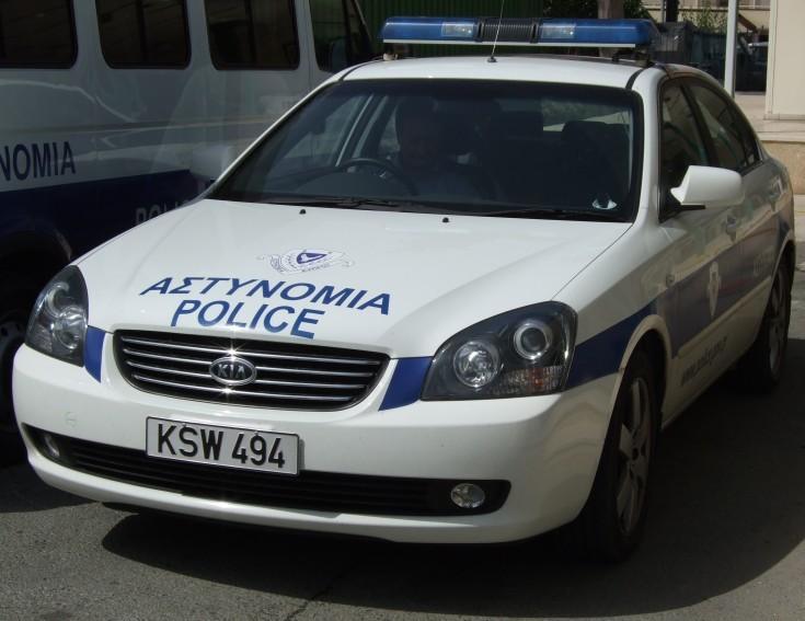 Cyprus Police Traffic Car