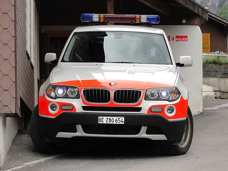 BMW Swiss Police