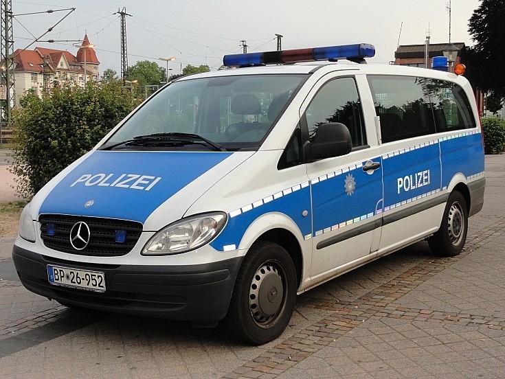 Mercedes Polizei Offenburg
