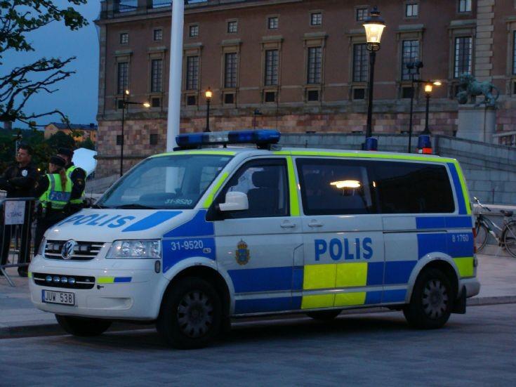Stockholm PD Sweden - Royal Wedding