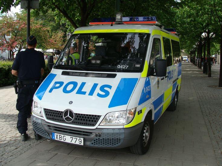 Stockholm Police Mercedes-Benz