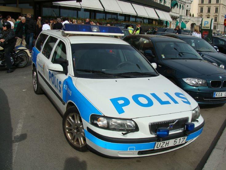 Stockholm PD Volvo