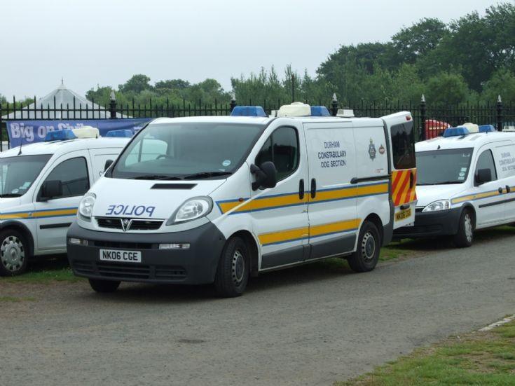 Vauxhall Dog Van