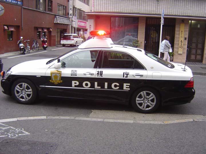 Tokyo Police department patrolcar