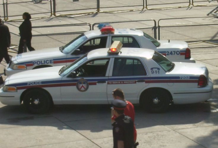 Toronto Police Services at City Hall