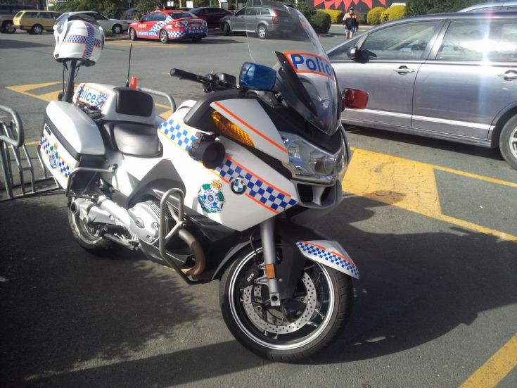 QLD Police Highway Patrol motorcycle