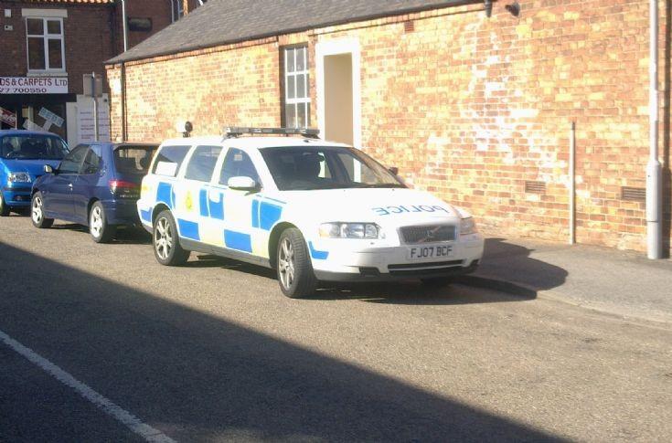 2007 VOLVO V70 Nottinghamshire Police car