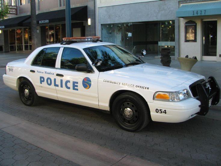 Police Car Photos Santa Monica Police