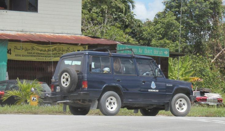 Mitsubishi Pajero Communication Vehicle