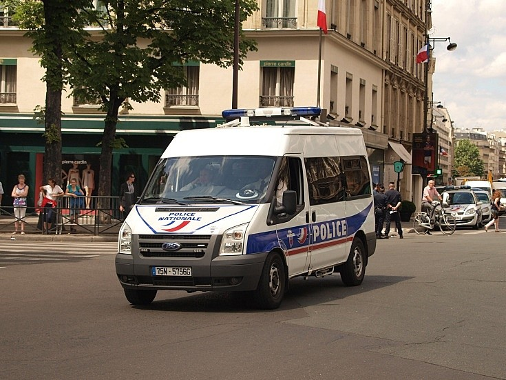 Police Nationale Ford Van