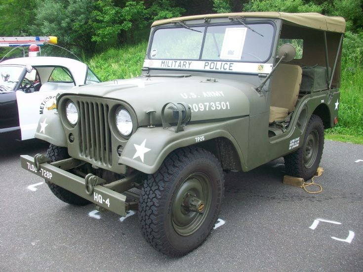 1954 US Army Korean War Police Jeep