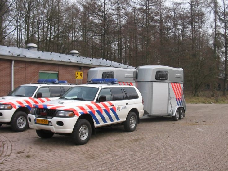 Mitsubishis of the Dutch Police