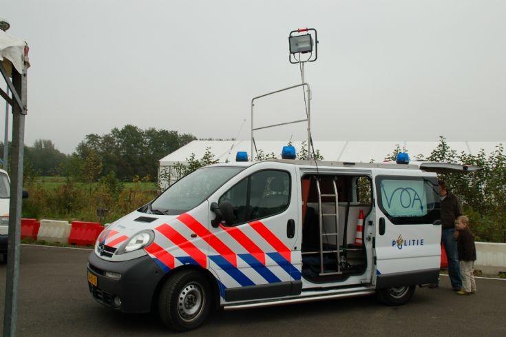 Police Car Photos Crash Investigation Car Groningen