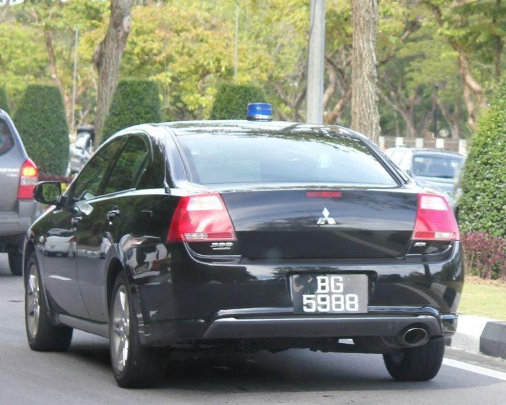 Mitsubishi 380 escort car