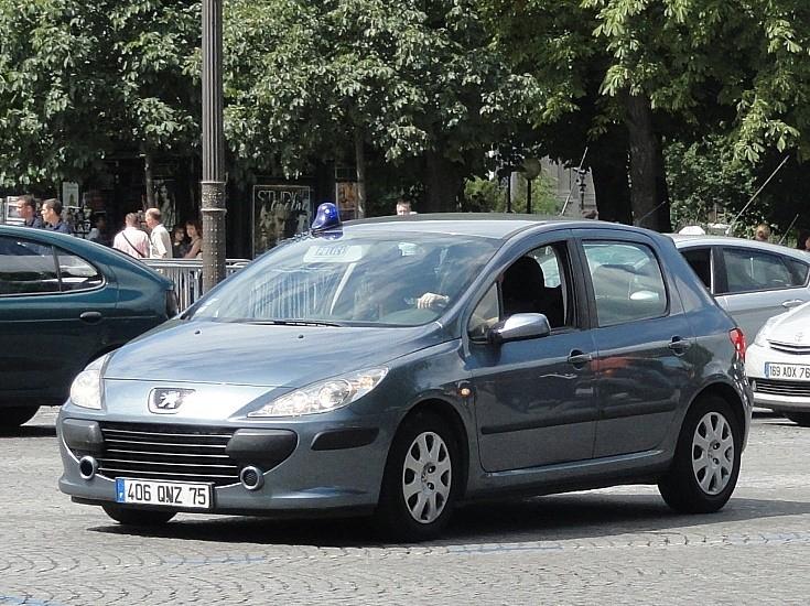 Peugeot at Bastille day