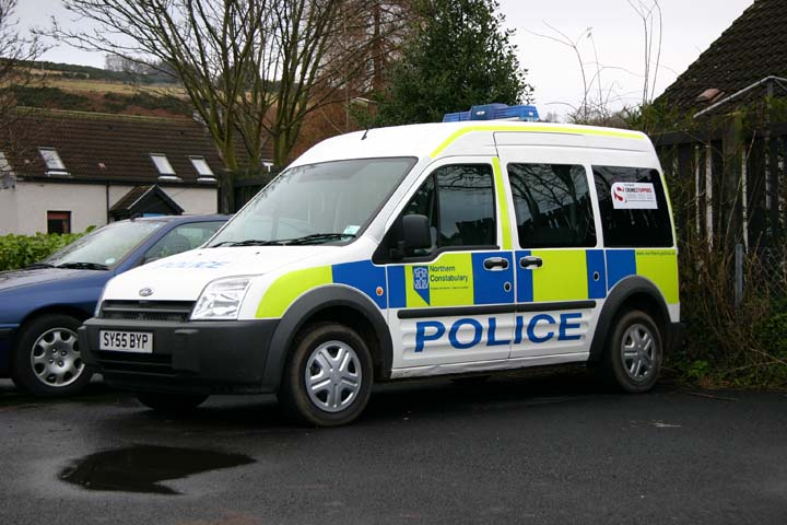Northern Constabulary Ford Transit Connect