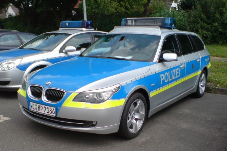 Hessen State Police BMW