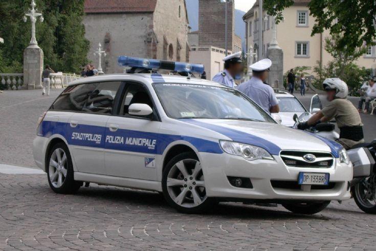 Police Car Photos Italia Polizia Municipale Meran Merano