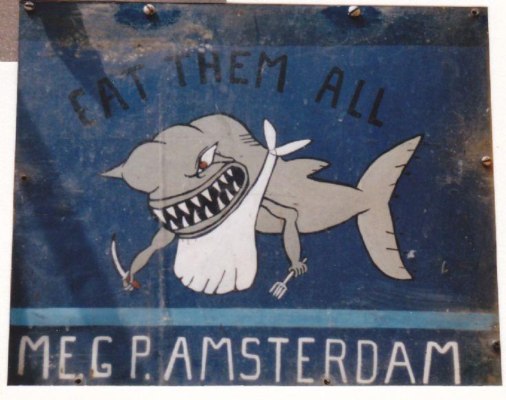 Logo on shovel of the GP Amsterdam
