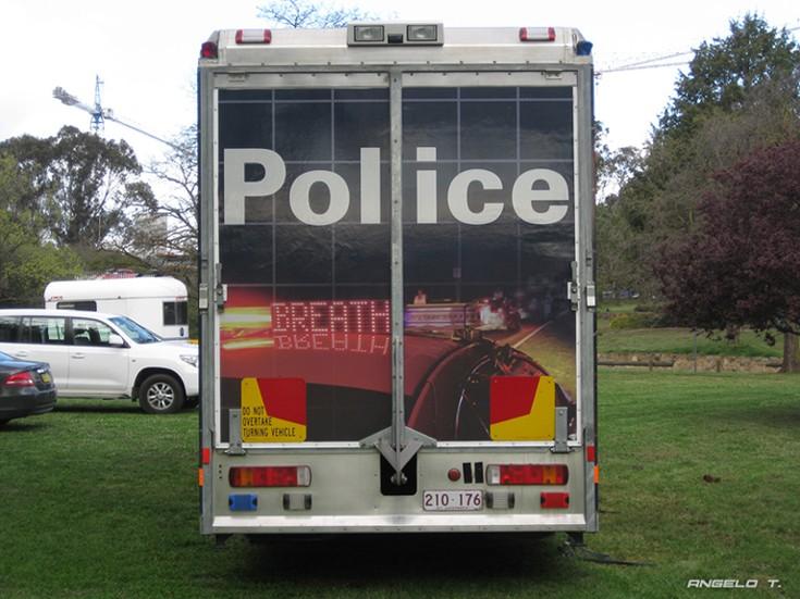 ACT Police Scania P94, Canberra Australia