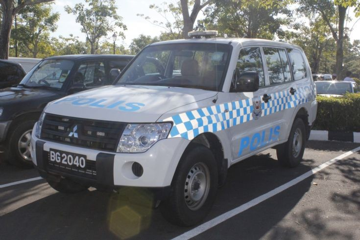 Mitsubishi Pajero patrol vehicle