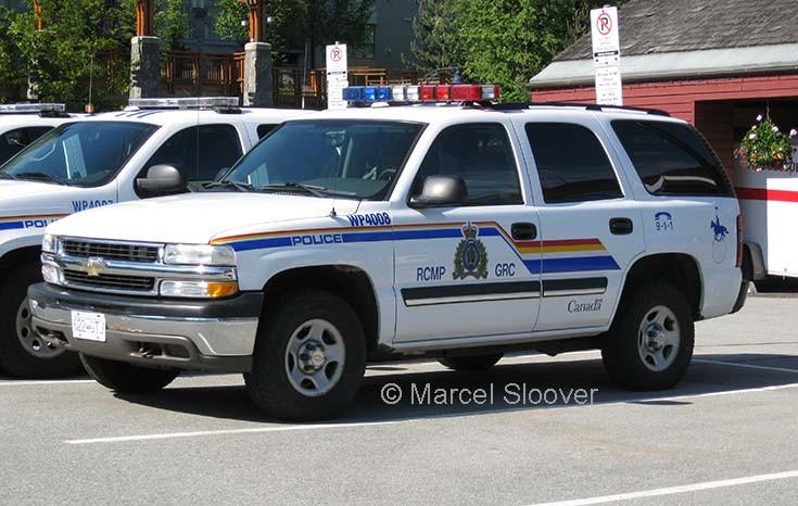 RCMP Chevrolet Whistler
