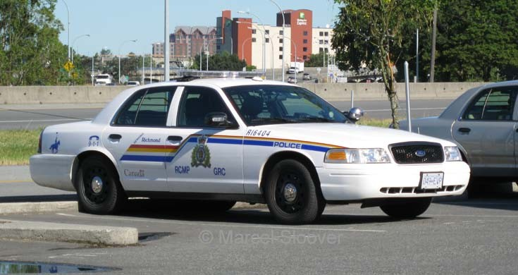Richmond RCMP Ford Crown Victoria
