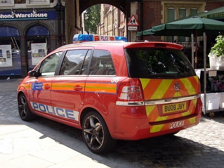 Police Car, Kensington