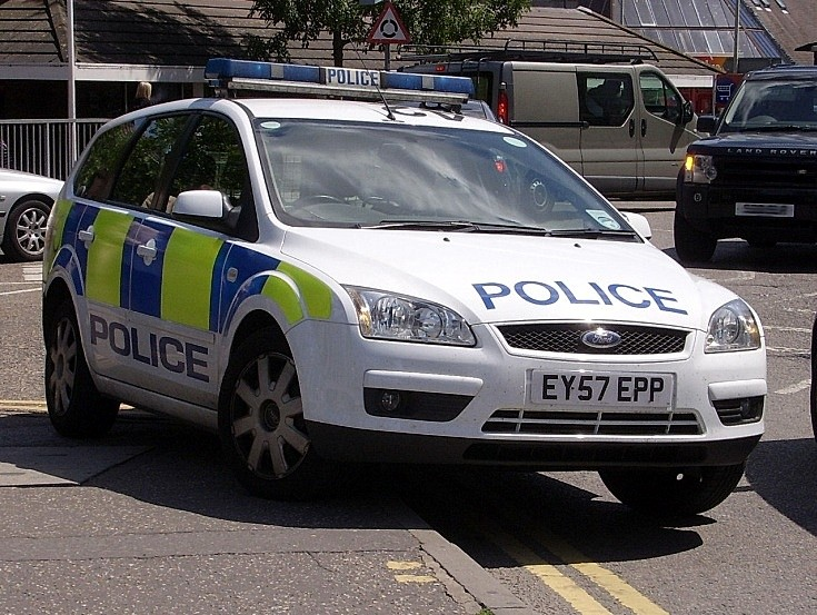 Police Car, Bond Street, Chelmsford