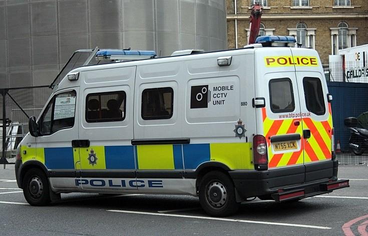 British Transport Police CCTV Van