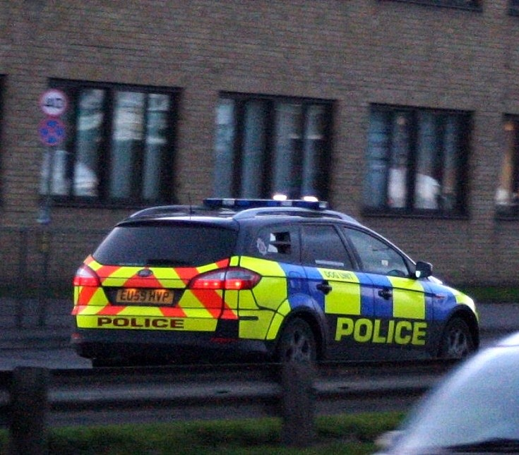 Police Car eu59hvp